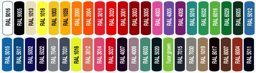kleuren acrylaat klein